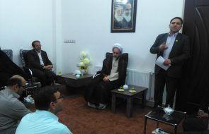 دیدار مسئولان روابط عمومی دستگاه های اجرایی قوچان با امام جمعه شهرستان
