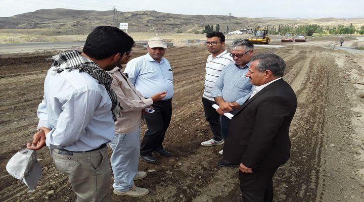 پروژه راه های شریانی شمال استان مورد بازدید قرار گرفت