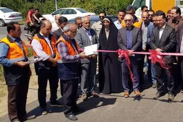 بهرهبرداری همزمان از ده پروژه راهداری و حمل و نقل جادهای در شهرستان تالش