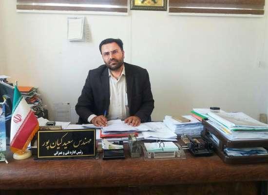 رئیس اداره فنی و عمرانی شهرداری بناب خبرداد؛ شروع عملیات کف سازی پیاده روی های بلوار سهند
