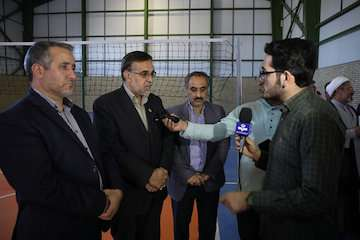 دو پروژه عمرانی اداره کل راه و شهرسازی خراسان رضوی در حاشیه شهر مشهد مقدس افتتاح شد