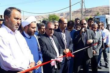 بخشی از بزرگراه شیراز – جهرم در هفته دولت به بهره برداری رسید