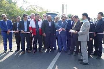 بهره برداری از ۳ پروژه راه و شهرسازی در شهرستان ماسال