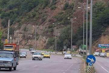 بهره برداری از ۷ کیلومتر از روشنایی راههای سوادکوه