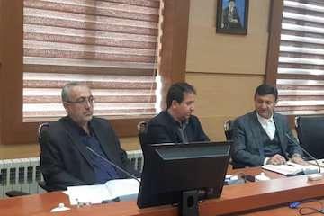 جلسه مشترک مدیرکل راه وشهرسازی گیلان با شهردار رشت