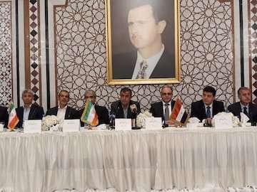 ایران و سوریه مصمم به پیشبرد همکاریهای دوجانبه اقتصادی هستند