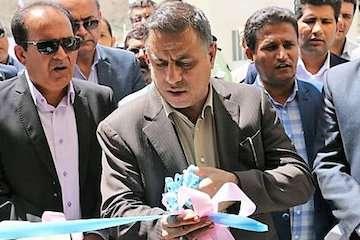 افتتاح ساختمان بخشداری گافر و پارامون در هرمزگان