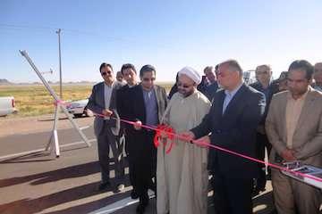 بهرهبرداری از  ۴.۷ کیلومتر از جاده جدید محور اصلی رباط سنگ – کدکن شهرستان تربت حیدریه