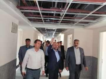 بیمارستان سقز بهزودی افتتاح میشود