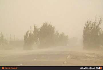سرعت وزش باد در زابل به ۸۶ کیلومتر بر ساعت رسید