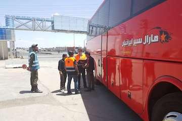 ادامه طرح نظارت و کنترل بر ناوگان حمل و نقل عمومی بار و مسافر شهرستان مراغه