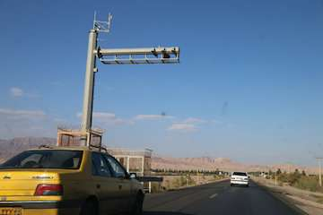 یک هزارو ۱۰۰ دستگاه دوربین ثبت تخلف در کشور تخلفات جادهای را رصد میکند