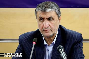 بازدید وزیر راهوشهرسازی از تقاطع غیرهمسطح ولیعصر- فریدونکنار