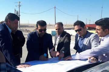بازدید مدیرکل حمل و نقل مسافر سازمان راهداری از پایانه مرزی مهران