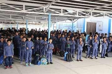 نگاه ویژه اداره کل بنادر و دریانوردی سیستان و بلوچستان به کیفیت مدارس بندر چابهار