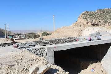 بهرهبرداری از پل زیرگذر ارغوان ورودی شهر ایلام تا اربعین