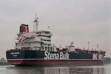 مرجع قضایی در حال رسیدگی به وضعیت کشتی انگلیسی توقیف شده است