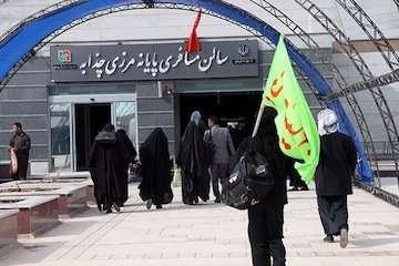 تردد بیش از ۸۰۰۰ زائر ایرانی از گذرگاه های مرزی خوزستان در تاسوعا و عاشورا