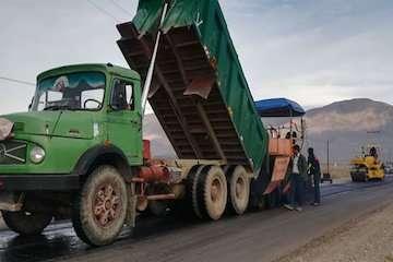 بهسازی، شنریزی و آسفالت ۷۰ کیلومتر راه روستایی در استان اردبیل