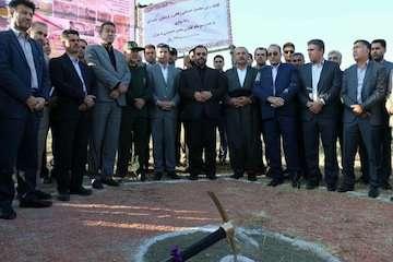 مجتمع خدماتی رفاهی سواری آذربایجان غربی باحضور معاون پارلمانی رئیس جمهور کلنگزده شد