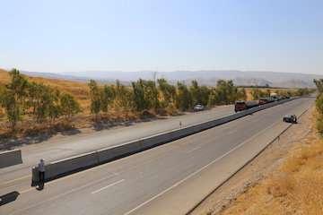 نصب ۱۲ کیلومتر نیوجرسی در راههای منتهی به مرز مهران