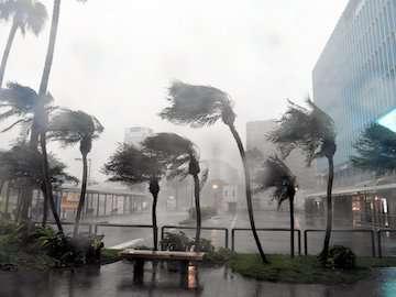 رییس سازمان هواشناسی کشور با طوفانزدگان شرق آسیا ابراز همدردی کرد