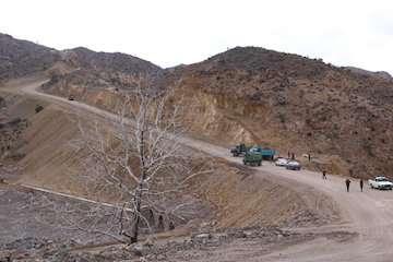 تکمیل راه روستایی سرگدار درشهرستان جیرفت