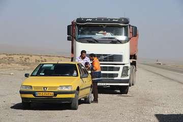 انجام ۹۰۰ هزار سفر توسط ناوگان جادهای استان کرمان