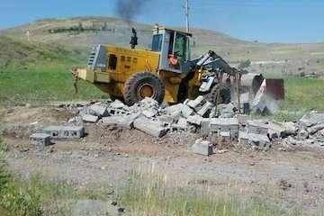 جلوگیری از ۱۵۴ مورد تجاوز به حریم راه و ساخت و ساز غیرمجاز در شهرستان خلخال