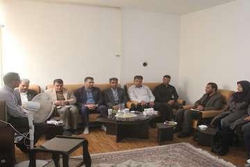 برگزاری جلسه شورای اداری راهداری استان مرکزی در خمین