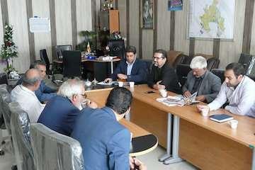 بررسی۳۳ پرونده شهرهای بجنورد، راز و فاروج در کمیته فنی راه و شهرسازی خراسان شمالی