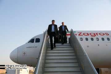 وزیر راه و شهرسازی وارد فرودگاه اصفهان شد