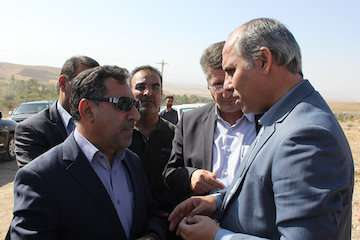 بازدید معاون وزیر راه و شهرسازی از پروژههای راهسازی استان زنجان