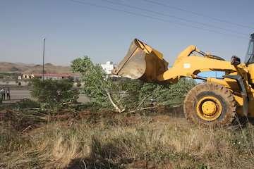 آزادسازی زمینهای ملی در استان زنجان