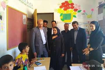 مدرسه ۹ کلاسه فرزانگان ترخانآباد مریوان افتتاح شد