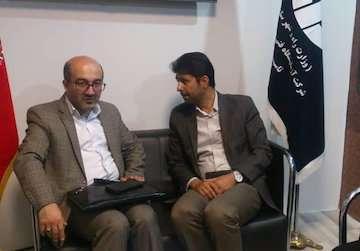 اعضای شورای اسلامی شهر تهران از نمایشگاه حماسه سازان سرافراز  دفاع مقدس بازدید کردند