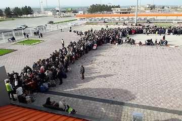 تردد ۸۰۰ هزار نفر مسافر از پایانه مرزی بیلهسوار