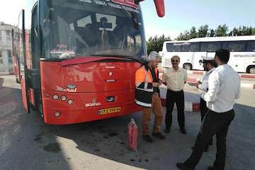 نرخ بلیت اتوبوس برای زائران خراسان شمالی تا مرز مهران اعلام شد