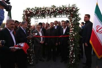 افتتاح ۶ کیلومتر از بزرگراه اک به اسفرورین قزوین با اعتبار ۱۳ میلیارد تومان توسط معاون رییس جمهور