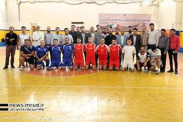 """""""سامان محیط"""" قهرمان فوتبال گلکوچک هفته دفاع مقدس شد"""