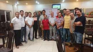 مسابقات تخته نرد ویژه اعضای سازمان نظام مهندسی ساختمان استان کردستان برگزار شد