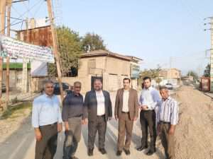 بازدید نماینده مردم شریف شهرستانهای گرگان و آق قلااز رند اجرای طرح هادی روستای قلی آباد