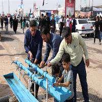 آمادگی کامل صنعت آبفاخوزستان در تامین آب شرب زائران اربعین حسینی در مرزهای شلمچه و چذابه