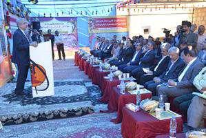 وزیر نیرو در آیین افتتاح پست ساران/ اقدامات ارزشمندی در مدیریت مصرف برق صورت گرفته است