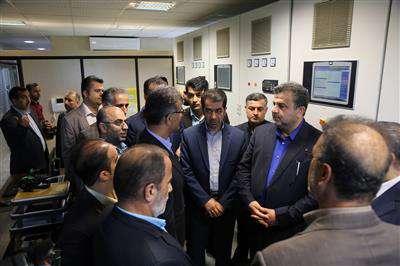 افتتاح نیروگاه برق7 مگاواتی درآمل