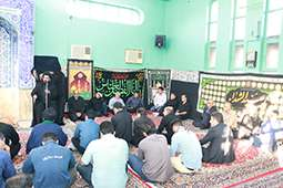 برگزاری سوگواری سالار شهیدان  و برپایی ایستگاه صلواتی سد و نیروگاه دز