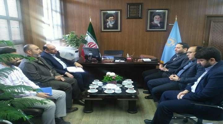نشست مدیرکل بنیاد مسکن استان با رئیس سازمان بسیج کارمندان استان سمنان