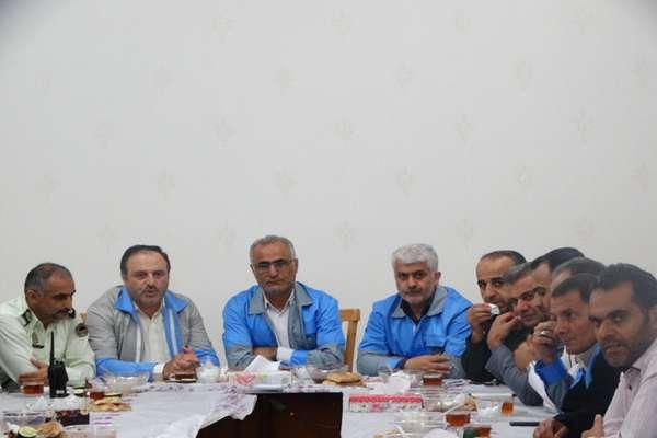 سنجش آمادگی اعضای مدیریت بحران شهرستان سوادکوه شمالی