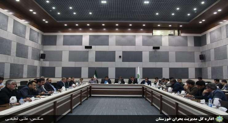 یازدهمین  جلسه قرارگاه بازسازی و نوسازی مناطق سیلزده باحضور معاون وزیر کشور
