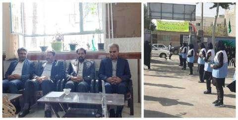 ریاست و اعضای شورای شهر به همراه شهردار چناران در مراسم آغاز سال تحصیلی شرکت کردند.